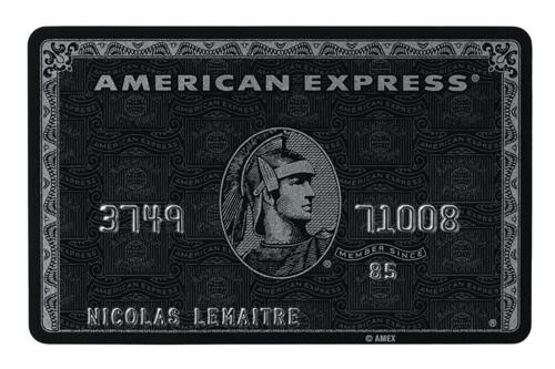 Carte American Express Belgique.Avec Centurion La Nouvelle Carte D American Express Tout Est