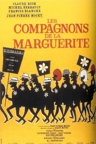 Affiche Les Compagnons de la marguerite Collection Christophel