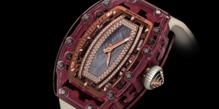 Richard Mille Pink Lady Saphir