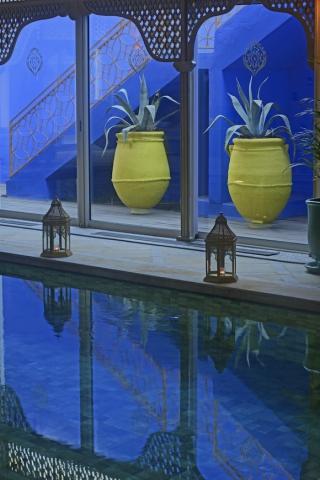 Marisa berenson au sofitel marrakech imperial spa a la - Piscine sofitel marrakech ...